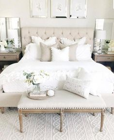 Choosing Good Dreamy Master Bedroom Ideas and Designs &; pecansthomedecor Choosing Good Dreamy Master Bedroom Ideas and Designs &; Home ideas Top Dreamy Master Bedroom […] Bedroom Master Bedroom Design, Home Decor Bedroom, Master Suite, Master Bedrooms, Dream Bedroom, Romantic Bedroom Design, French Bedroom Decor, Bedding Master Bedroom, Master Bed Room Decor