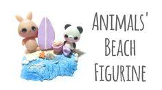 Tutorial : Polymer Clay Mini Beach FIgurine