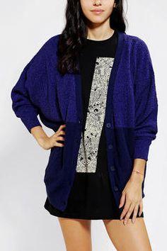 Sparkle & Fade Colorblock Cardigan on shopstyle.com