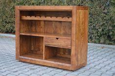 #furniture dla #Bar, Stojak na wino @ http://goo.gl/pA9xrK  #handmade #indyjskie