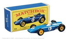 Matchbox Regular Wheels No.52b BRM Formula 1 Racing Car.