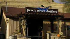 The Peach Street Distillery serves up a variety of house-made spirits