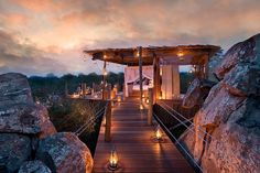 Fantastic Open Air Resorts In Exotic Place In South Africa ᴷ