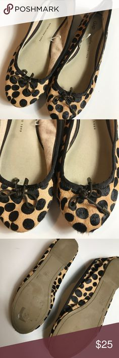 Gap Leopard Flats Calf Hair Great Condition GAP Shoes Flats & Loafers