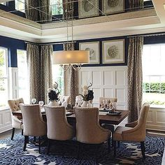 Beautiful dining room | interior design, home decor, dining room. More inspirations at http://www.bocadolobo.com/en/inspiration-and-ideas/