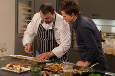 Blick hinter die Kulissen der Sendungsaufzeichnung 13/20 Backdrops, Cooking