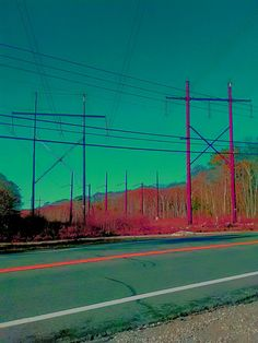 Funked out Ht Pink Pwer Lines. Providence County, RI. Pic by Melissa Harwood.