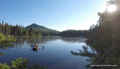 Backpacking to Unknown Pond