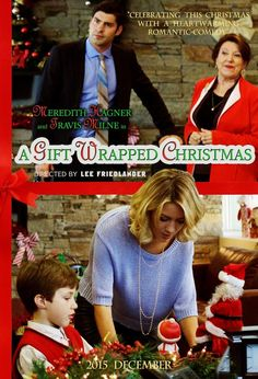 A Gift Wrapped Christmas (2015) Meredith Hagner stars as Gwen, a personal shopper whose new client is a workaholic single father who doesn't spend enough time with his son
