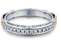 Verragio Parisian Collection #Wedding Band With #Diamonds