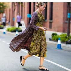 Colorful pattern play street style