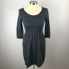 Old Navy Womens XS Gray Knit Dress - Grey Dresses - Ideas of Grey Dresses Grey Knit Dress, Grey Dresses, Old Navy, High Neck Dress, Gray, Knitting, Ideas, Women, Fashion