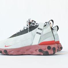 ab7fc46c52f Nike React Runner Mid WR ISPA - Summit White / Off-White / Crimson White