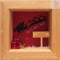 Santa please stop here! frame from Mini Moments by Jamielee© Fb.com/minimomentsbyjamielee