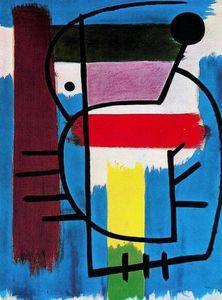 Mujer Sentada 2 - (Joan Miro)