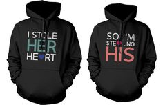 We have such a wide variety, so difficult to choose, choose Romantic Matching... from Gym Fanatics at http://gymfanatics.co.za/products/romantic-matching-couple-hoodies-loving-texts-pullover-hoodies-i-stole-his-or-her-hearts-couple-sweatshirt-for-boys-and-girls?utm_campaign=social_autopilot&utm_source=pin&utm_medium=pin.