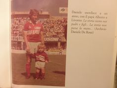Alberto & Daniele De Rossi in 1984 via @johanssonmalena