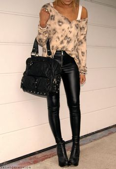 girly leather