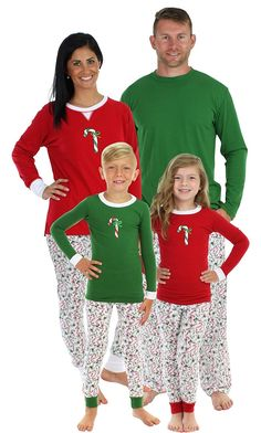 8a1b1e0769 SleepytimePjs Kids Reindeer Family Matching Pjs Green Top Printed Pant-2T
