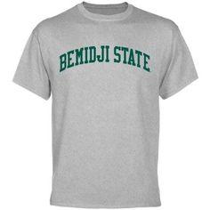 NCAA Bemidji State Beavers Basic Arch T-Shirt - Ash  $18.95