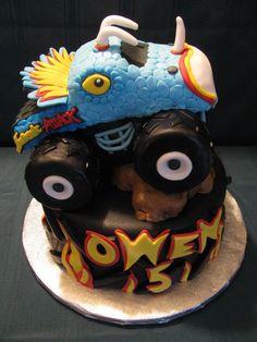Photo Gallery - Legend Cakes... Monster Truck Cake!!!