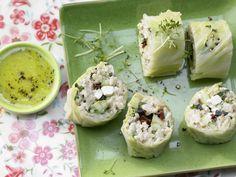 Chinakohl – gerollt und gefüllt - mit Reis und Gemüse - smarter - Kalorien: 434 Kcal - Zeit: 45 Min. | eatsmarter.de
