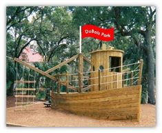 Pirate Ship Playground Plans
