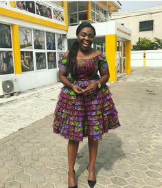 Every fashionable lady would love to be seen in the Latest Ankara Gown Styles. The creativity of Nigerian fashion designers brings hundreds of Ankara styles to life. African Inspired Fashion, Latest African Fashion Dresses, African Dresses For Women, African Print Dresses, African Print Fashion, African Attire, African Wear, African Women, African Prints