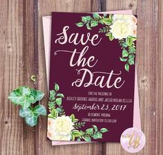 marsala and navy wedding invitations - Google Search