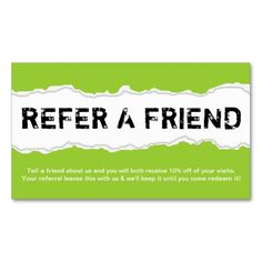 Teal gray simple refer a friend custom cards colorful business teal gray simple refer a friend custom cards colorful business card templates pinterest custom cards business cards and teal colourmoves