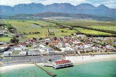 The Strand - Cape Town photos / South Africa Pretoria, Somerset West, Most Beautiful Cities, Amazing Places, Cape Town South Africa, Africa Travel, The Good Old Days, Aerial View, Live