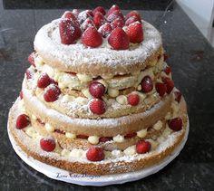 Bolo Desconstruído - deconstructed cake