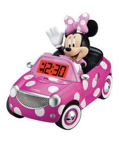 Look what I found on #zulily! Minnie Mouse Car Alarm Clock #zulilyfinds