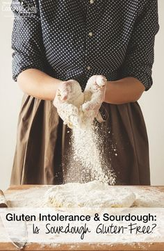 Gluten Intolerance & Sourdough: Is Sourdough Gluten-Free? | Why is gluten so hard to digest? What is the relationship between gluten intolerance and sourdough? Is sourdough gluten-free? Here is the science behind sourdough -- how the proteins in wheat affect our digestion and the answer to the question: is sourdough gluten-free? | TraditionalCookingSchool.com