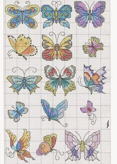 Butterfly Stitch – Knitting Bordado Butterfly Stitch – Knitting Bordado,sticken Butterfly Stitch – Butterfly Cross stitch I would clean up the edges on them with Related posts:Ammonite Wrist Warmers Crochet Free Pattern - Crochet. Butterfly Stitches, Butterfly Cross Stitch, Cross Stitch Bird, Cross Stitch Animals, Butterfly Pattern, Cross Stitch Flowers, Cross Stitch Charts, Cross Stitch Designs, Cross Stitching