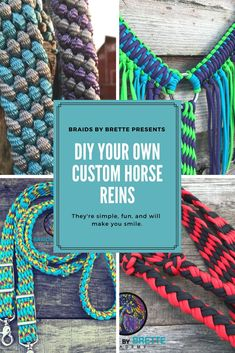 Popular DIY paracord home decor ideas for any room Braids By Brette Academy I ab… – Art Of Equitation Diy Tresses, Horse Braiding, Horse Camp, Horse Halters, Horse Accessories, Diy Braids, Barrel Horse, Hobby Horse, Horse Crafts