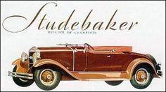 1929 studebaker presdent straight eight roadster for four