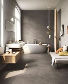 Bathroom Inspiration: The Do's and Don'ts of Modern Bathroom Design 17 - Modern Interior Modern Bathroom Design, Bathroom Interior Design, Modern Interior Design, Bathroom Designs, Bathroom Layout, Design Interiors, Contemporary Interior, Contemporary Bathrooms, Kitchen Design