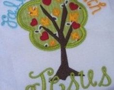 JellyFish Applique Machine Embroidery Design by JustPeachyApplique