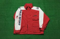 A personal favorite from my Etsy shop https://www.etsy.com/listing/507658864/vintage-90s-polo-sport-jacket-spell-out