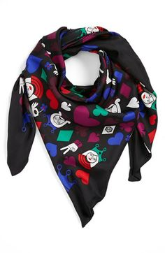 Jonathan Adler 'House of Cards' Silk Scarf $65.66 available at #Nordstrom