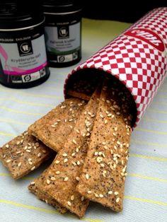 Glutenfri brødsticks