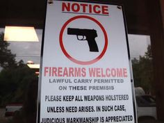 Maryville restaurant gets national support for signs welcoming gun owners