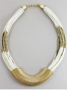 P.S. I Love You More Boutique | Egyptian Romance Necklace in Ivory | www.psiloveyoumoreboutique.com