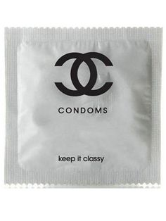 zacefronisathing:  Apparently this is a hoax (the gals at Refinery29 even called both NYC locations to inquire about the $300 Chanel Condom 12-packs). But an awesome one! Maybe fake fakes will show up in Chinatown? A girl can only dream.  i remember reblogging the orginal poster o this…. i'm fairly sure it's just a photoshop job…. it's just for fun, not real.