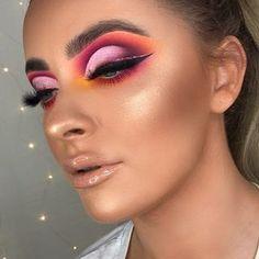 Gorgeous Makeup: Tips and Tricks With Eye Makeup and Eyeshadow – Makeup Design Ideas Cute Makeup, Glam Makeup, Gorgeous Makeup, Makeup Inspo, Eyeshadow Makeup, Makeup Inspiration, Beauty Makeup, Hair Makeup, Purple Makeup
