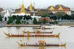 Royal Barge Procession, Bangkok, Thailand
