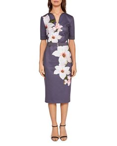 1b86bef7 Ted Baker Bisslee Chatsworth Sheath Dress Ted Baker Fashion, Signature  Style, Pencil Dress,