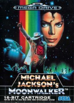 Michael Jackson's Moonwalker - for use with the Sega Mega Drive Video Entertainment System