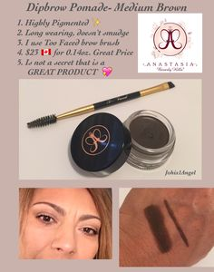 Discover the latest in beauty at Sephora. Explore our unrivaled selection of makeup, skin care, fragrance and more from classic and emerging brands Anastasia Beverly Hills Dipbrow, Brow Brush, Medium Brown, Smudging, Sephora, Makeup Tips, Brows, Fragrance, Skin Care